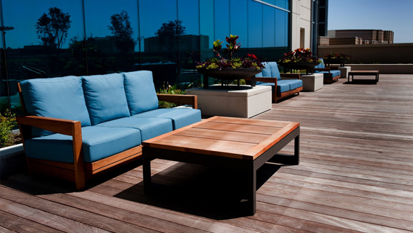 Wooden decking Belfast